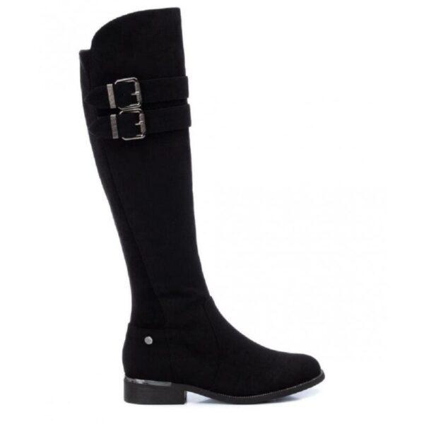 Γυναικεία μπότα suede Xti flat